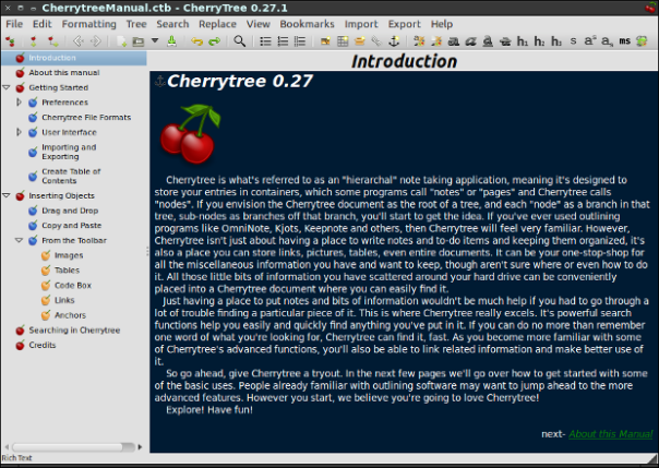 cherrytree-main_window_text