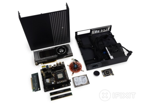 Inside the Steam Machine (Credit: http://www.ifixit.com/)